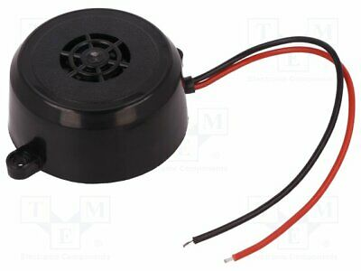 BUZ-P Sound transducer: piezo alarm - 12÷·24VDC - Sound level:100dB