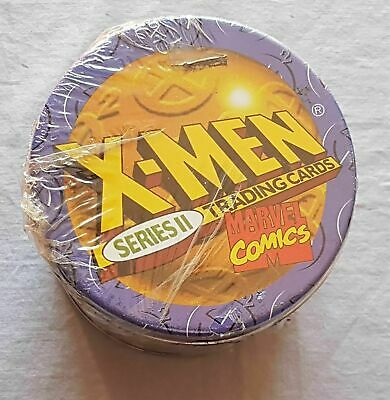 SkyBox X-Men: Series 2 Trading Card Set TIN 1993 Marvel