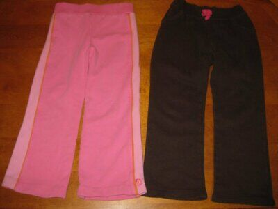 Carters & Jumping Beans Girls Pants Brown Pink Athletic & Fleece Size 5
