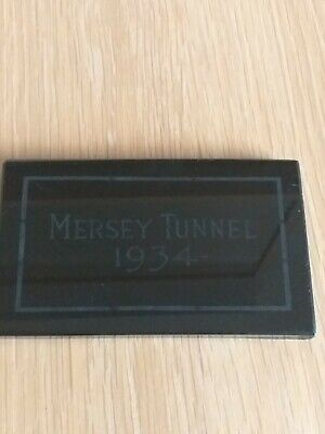 Mersey Tunnel Opening 1934 Commemorative Plaque