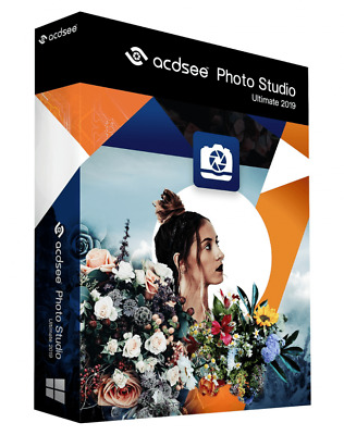 ACDSee Photo Studio Ultimate 2019 🔥 Digital Version! Instant Delivery 🔥