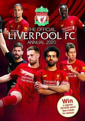 The Official Liverpool FC Annual 2020 by Grange Communications Ltd 9781913034238