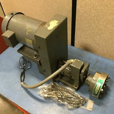HyPneuMat SP350E 12008-B Drilling and Tapping Unit, With Baldor 36A01-3066 Motor