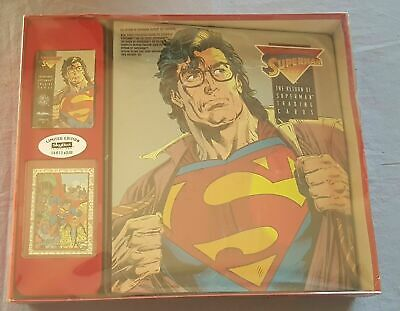 Return Of Superman Factory Set 1993 Skybox Edizione Limitata