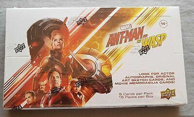 Marvel Ant-Man & the Wasp Hobby Box Upper Deck Trading Cards 2018 3 Inserts