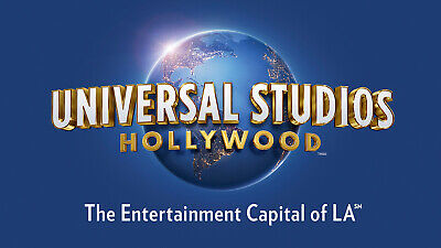 Universal Studios Hollywood Any Day Adult E Ticket 1 day general admission Dec