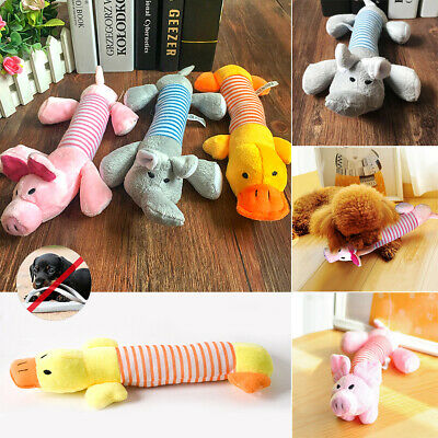 Pets Funny Soft Pets Puppy Chew Play Squeaker Squeaky Cute Plush Sound Dogs Toys