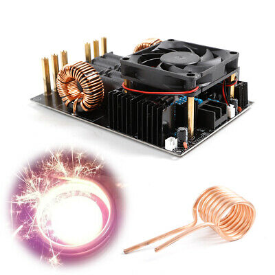 1KW 1000W High Voltage Generator ZVS Induction Heating Heater Module + Coil USA