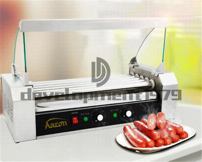 1KW 220V Commercial 5 Roller Hot Dog Grill Cooker Machine
