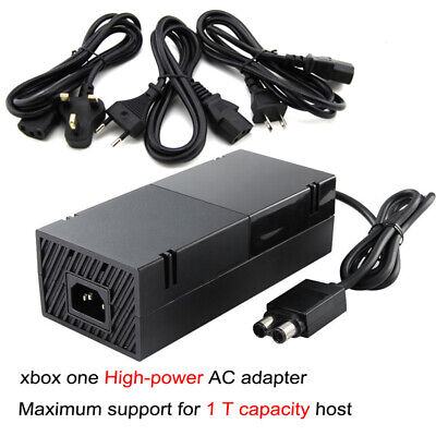For Xbox One 500G~1T Capacity Console 12V AC Adapter Charger Power Supplier US