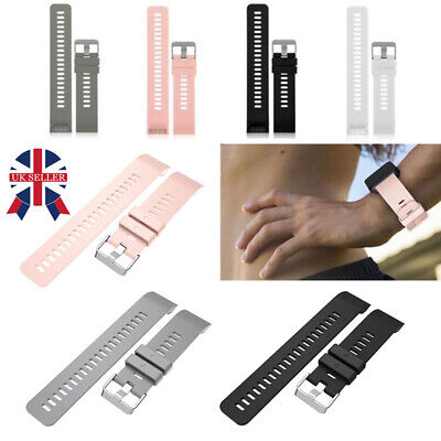 Replacement Silicone Wrist Band Strap With Tool For Garmin Forerunner 35 Watch C