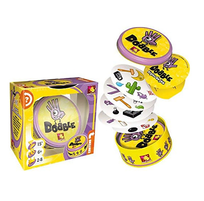 Speed Observation and Reflexes Race Matching Images Dobble Card Kids Play Game
