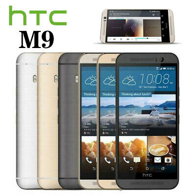 UK New & Sealed HTC One M9 Factory Unlocked Gold Black Silver 32GB Android Phone