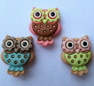Novelty Craft Buttons /& Embellishments by Dress It Up In The Barn