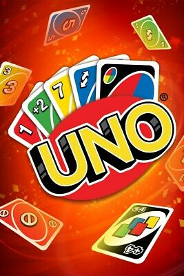 Genuine Uk Uno Card Game 108 Playing Cards Family Children Friends Party Gift