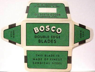 Vintage BOSCO DE Safety Razor Blade