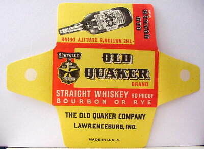 Vintage  .OLD QUAKER BOURBON WHISKEY   DE Safety Razor Blade