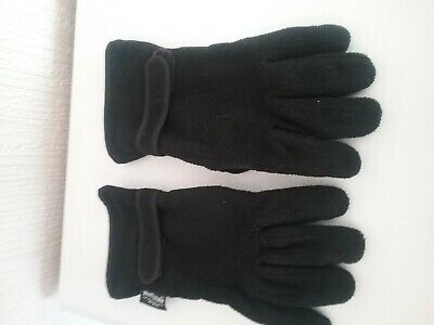 Navy Fleece Lined Gelert Gloves One Size Thermal Thinsulate Mens