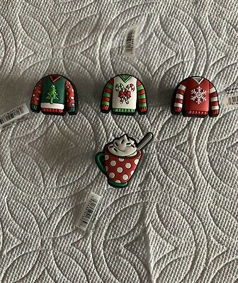 Christmas Jibbitz Christmas Shoe Charms Not So Ugly Sweater Jibbitz Holiday Mug