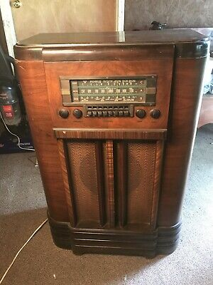 Vintage Victor Rca Stand Up Radio