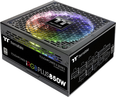 Thermaltake PSU  850W 80+ Toughpower iRGB Plus Platinum NEW