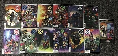 HOUSE OF X #1-6 & POWERS OF X #1-6 2019 Marvel Complete set Hickman NM