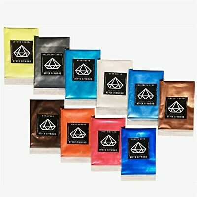 Variety Pack 10 Colors Mica Powder Pure, 2TONE Pigment Packs for Epoxy,Paint...