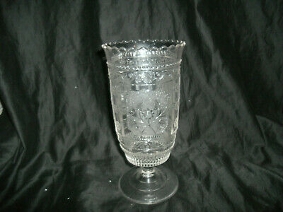Vintage Antique Pressed Glass Celery Holder