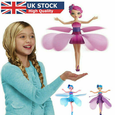 Flying Fairy Toy Princess Dolls Magic Infrared Induction Control Xmas Kids Gift