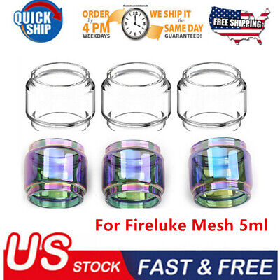 3PCS 5ml Fireluke Mesh Replacement Extended Glass USA FAST FREE SHIP