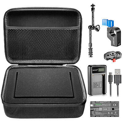 Neewer 7 inches Camera Field Monitor Accessory Kit for Neewer NW759 74K 760