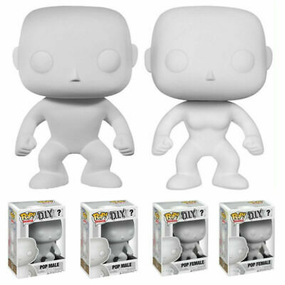 Funko POP DIY Male Female Figures Collectable Blank Custom Make Your Own Toy UK