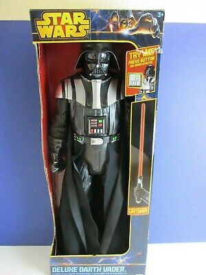 """31"""" DELUXE GIANT SIZE star wars DARTH VADER ACTION FIGURE jakks pacific LARGE"""