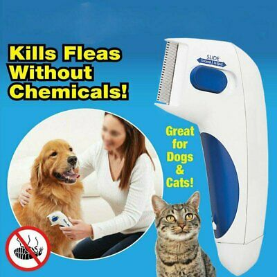 Electronic Flea Comb Zapper Epilady - Electric Killer Safe for Cats, Dogs,... ZE