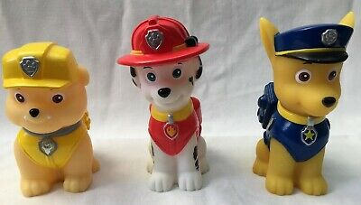 Paw Patrol Colour Changing Lights Chase Rubble Marshall