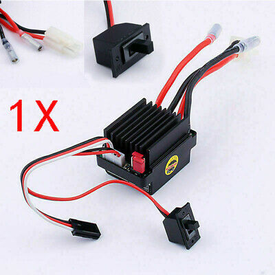 320A Brush Motor Speed Controller ESC For 1/10 1/12 RC Truck Car Boat#