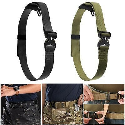 Tactical Belt Military Style Belt Heavy Duty Nylon Belt For Hunting Traing Army