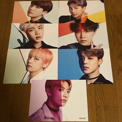 BTS Commercial Paper FAKE LOVE/Airplane pt.2 TowerRecord Limited Japan Chooseble