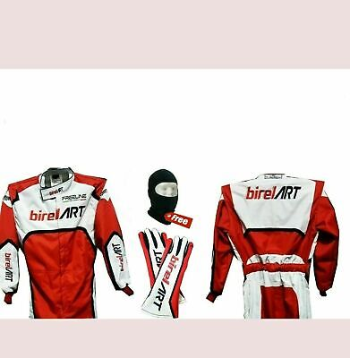 Birel Art Go kart racing  suit level ll approved free gifts included