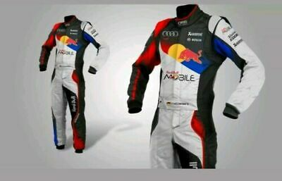RedBull suit race suit printed  karting suit  free gift included