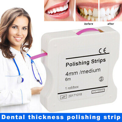 Dental Abrasive Finishing Polishing Strips Teeth Oral Care Abrasive Tool