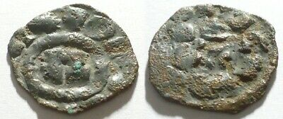 Unidentified 13-15 Century Central Europe Medieval / Crusaders Denar Silver Coin