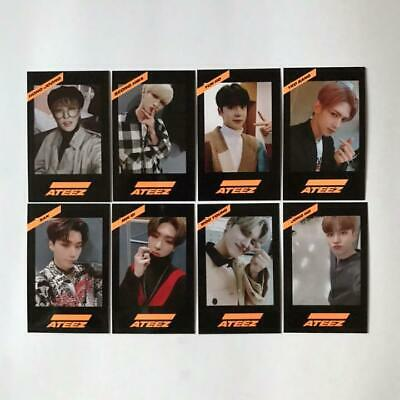 ATEEZ KCON 2019 Official Photo card JAPAN Limited chooseable WITH PLASTIC CASE