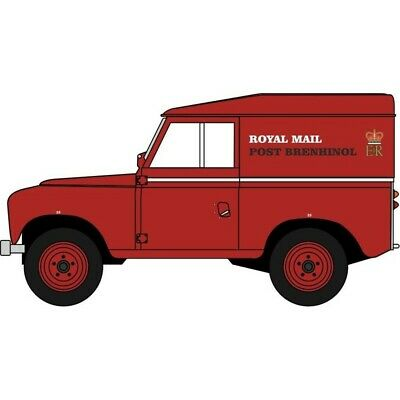 BNIB OO GAUGE OXFORD 1:76 76LR2S006 Land Rover Series II SWB Canvas REME