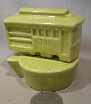 Vintage Cable Car & Turning Platform S&P Shakers