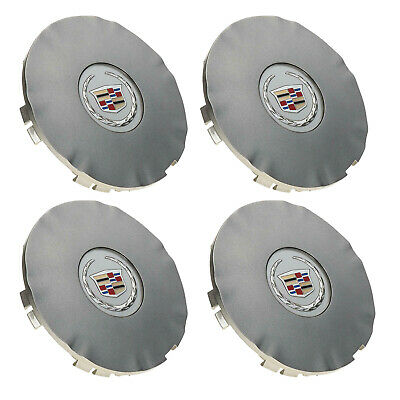 "4x Silver Car Wheel Center Hub Caps Cover For Cadillac SRX 18"" 2010-2016 9599024"
