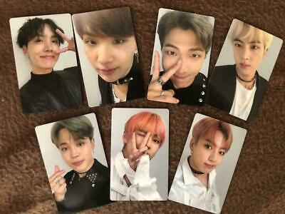 BTS FAKE LOVE Airplane official photocard jungkook taehyung Japan Chooseable