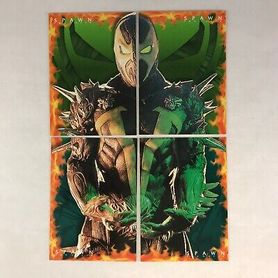 Spawn The Movie Complete Spawn Revealed Chase Card Set #1-4