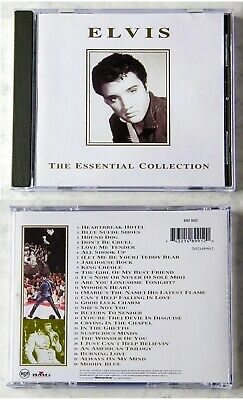 ELVIS PRESLEY The Essential Collection .. 28 Track 1994 BMG CD <Fine Collection>