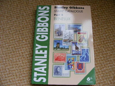 Stanley Gibbons Stamp Catalogue Benelux 6th Edition FreePost W667